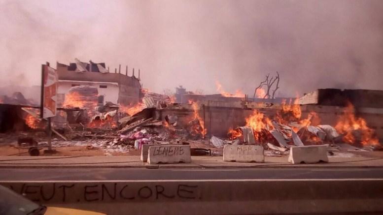 Parc Lambaye de Pikine : Un énième incendie… un Etat sourd, aveugle et muet