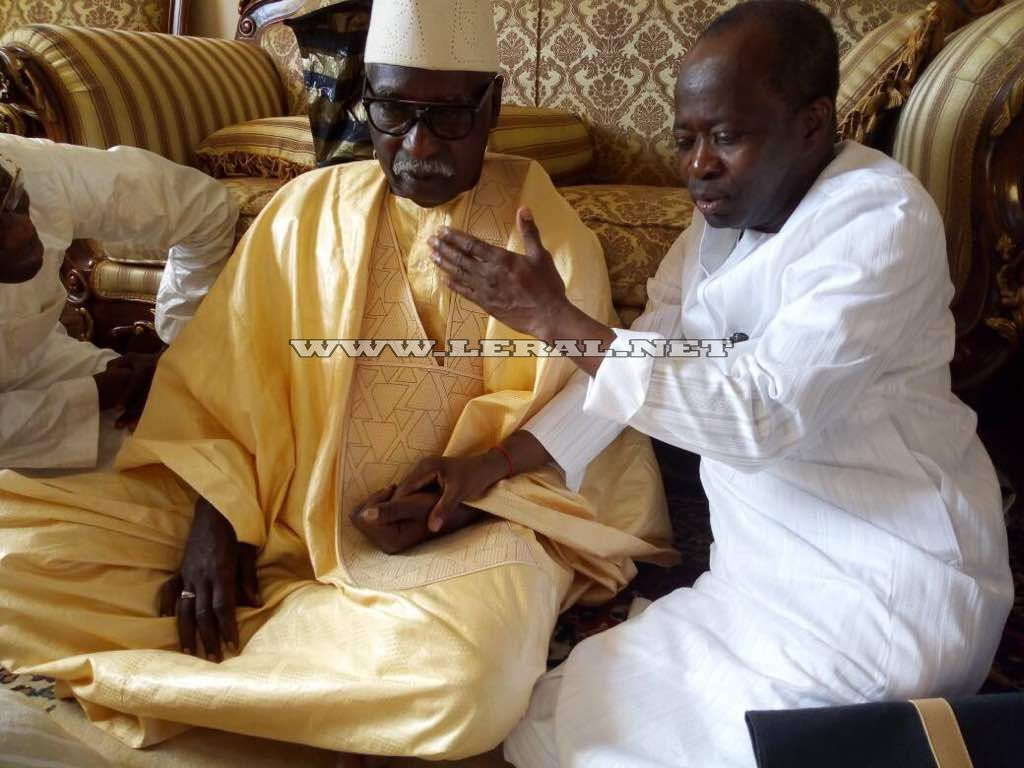 Photos-Serigne Mbaye Sy Mansour et Diagna Ndiaye