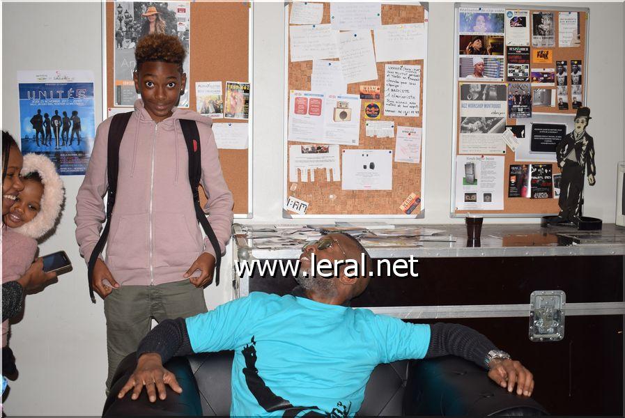 Bouba Ndour, avec son fils Philippe, prêts pour le Bercy 2017