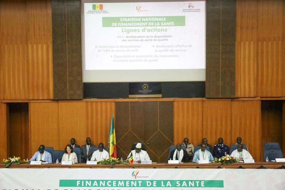 """Le Président Macky Sall sur le financement de la santé: """"L'Etat va mettre les moyens et exiger des soins de santé de qualité"""""""