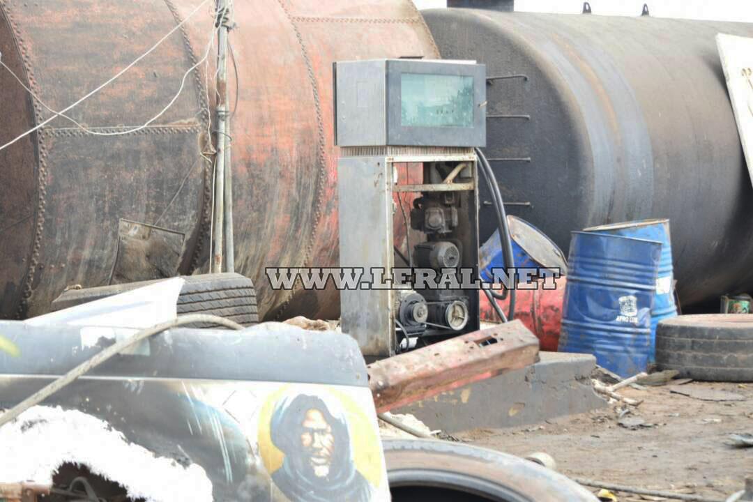 Images- Constatez les dégâts causés par l'incendie au Pakk Lambaye