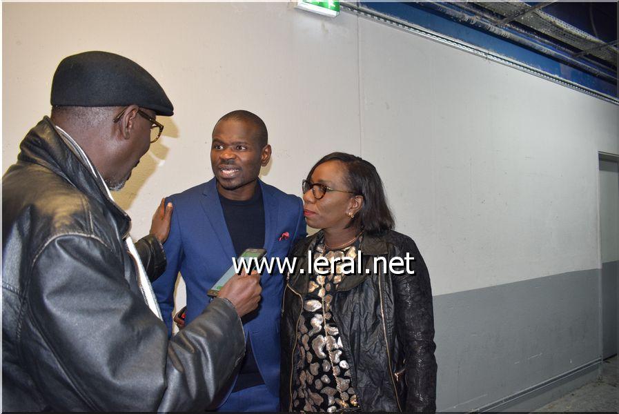 Pape Cheikh Diallo et Mame Sira Konaté, dans les coulisses Accorhotels Arena / Bercy