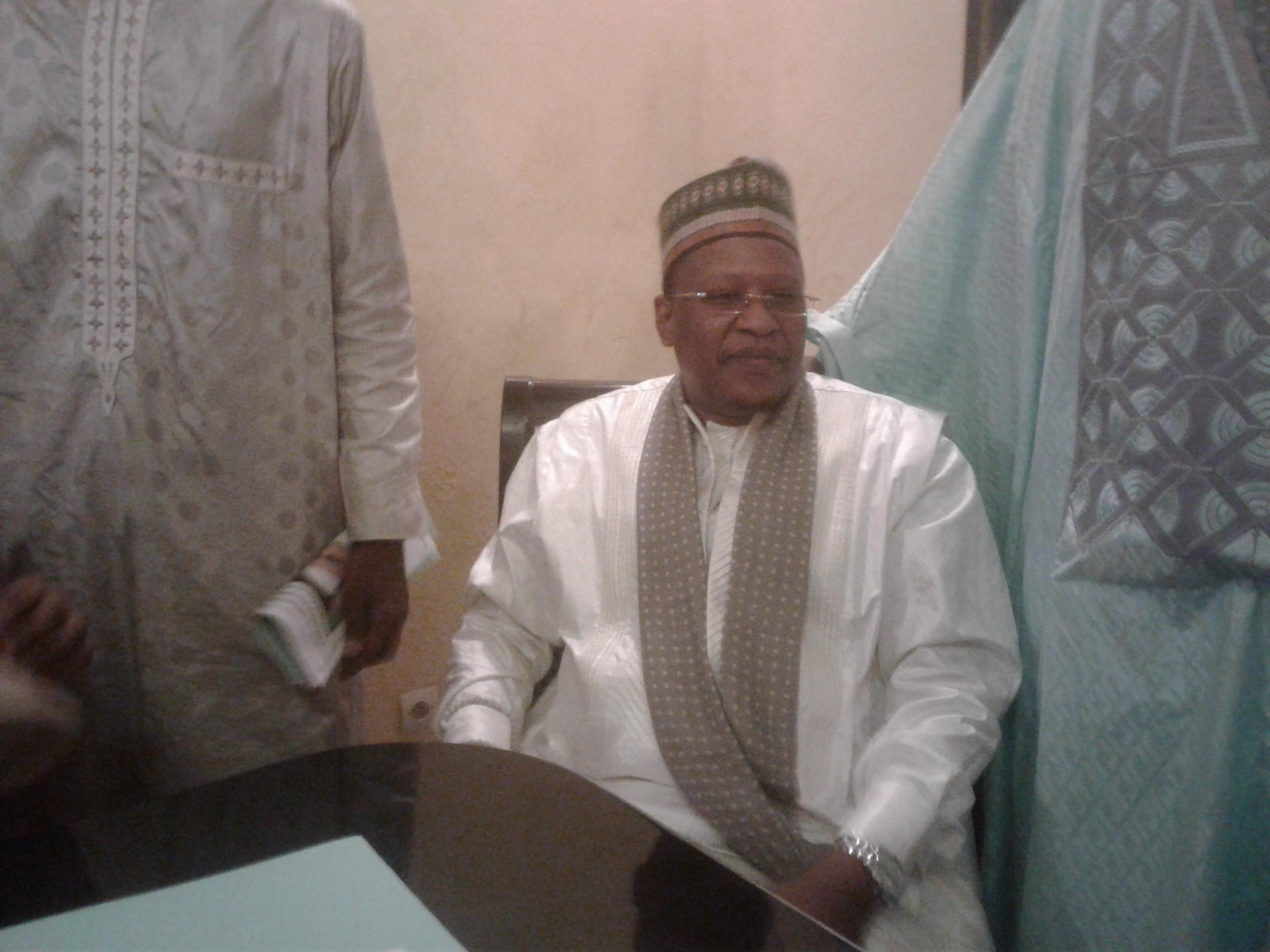 CRD Ziarre annuelle Thierno Mouhamadou Bachir Tall à Ouakam: « Je suis satisfait des mesures prises par le préfet pour la bonne réussite de la ziarra » dixit Thierno Cheikh Oumar Bachir Tall