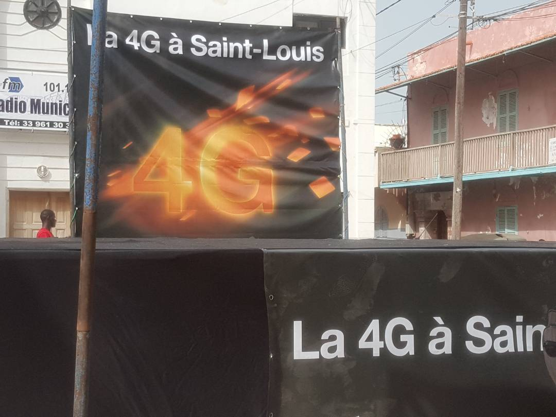 Internet mobile haut débit : Orange connecte Saint-Louis à la 4G