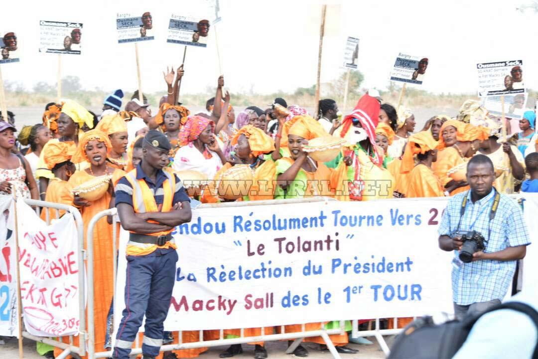 Photos- Les premières images de la cérémonie de pose de la première pierre du Port Minéralier de Sendou-Bargny