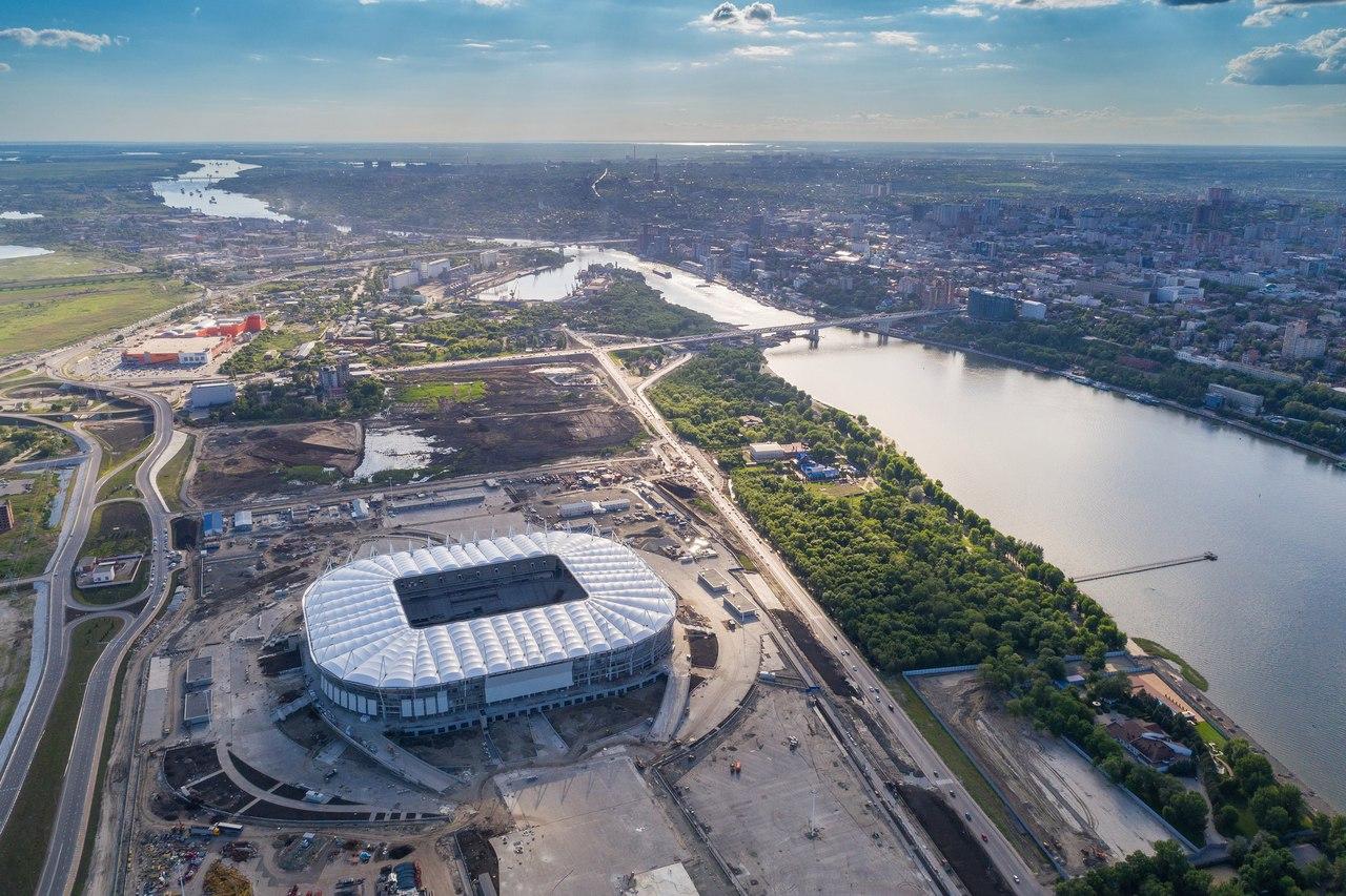 """(13 Photos) – Découvrez les premiers stades que les """"Lions"""" vont fouler en Russie"""