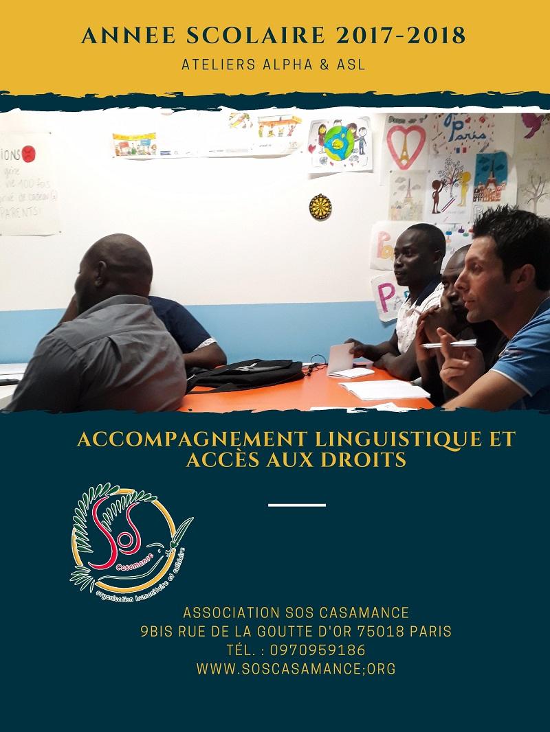 Du côté de la Goutte d'Or: Des mots sur les maux avec SOS Casamance