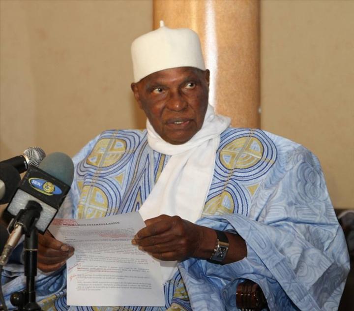 """Pourquoi le """"nom de baptême de l'aéroport International de Diass"""" à  Blaise Diagne... (Abdoulaye Wade)"""