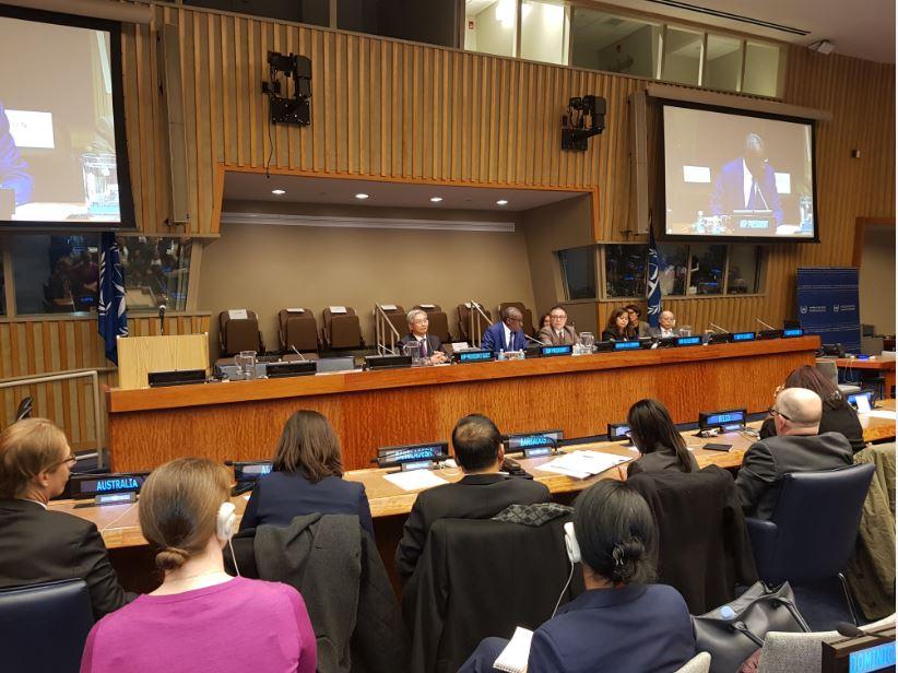 Fin de mandat du président des Etats parties au Statut de Rome de la CPI: Sidiki Kaba fortement applaudi lors de la 16e session à l'ONU