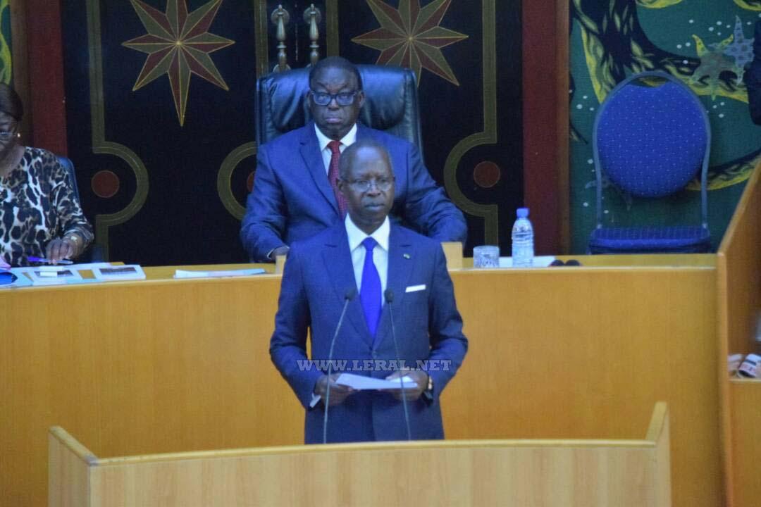 IMAGES : la Déclaration de politique générale du Premier ministre Mahammed Boun Abdallah Dionne