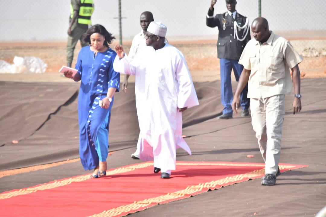 Moustapha Niass satisfait de l'inauguration de l'aéroport Internationale Blaise Diagne.