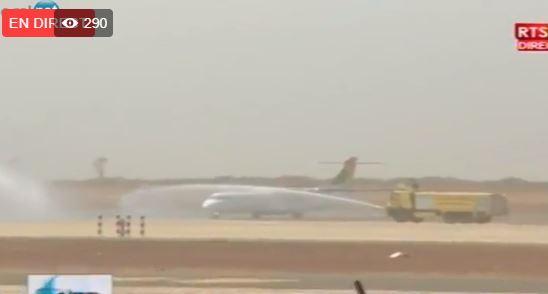Arrêt sur images- Démonstration spectaculaire de l'Armée de l'air à l'AIDB