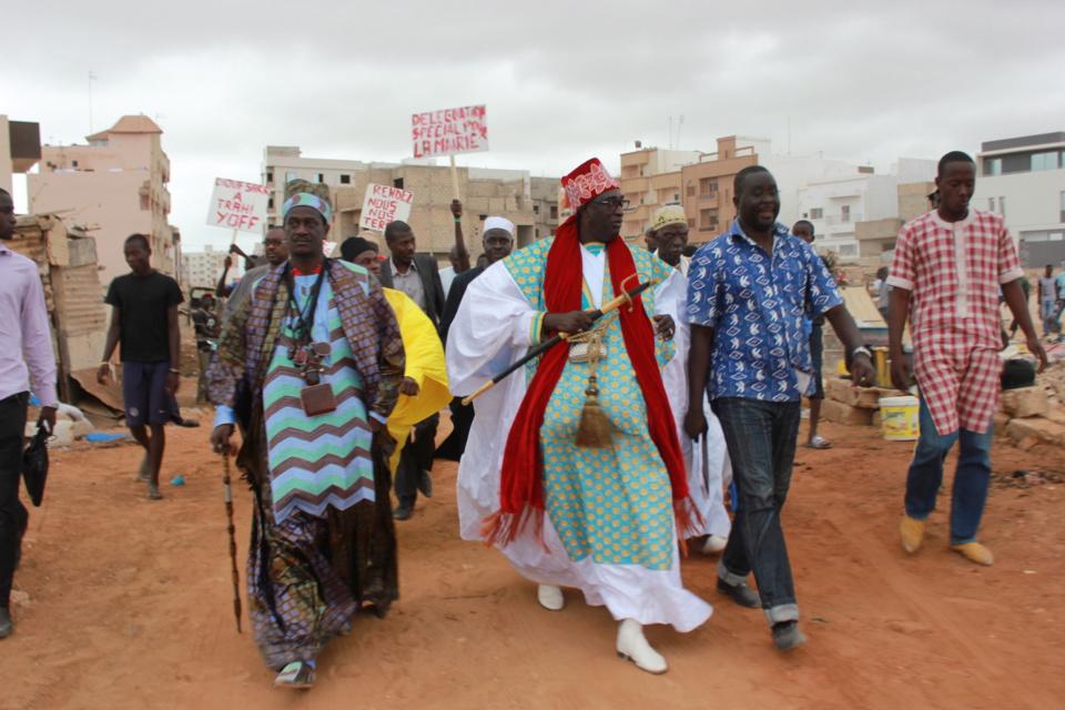 Terres de l'aéroport de Yoff : Les jeunes de la collectivité Taank dénoncent le comportement de Pape Ibrahima Diagne