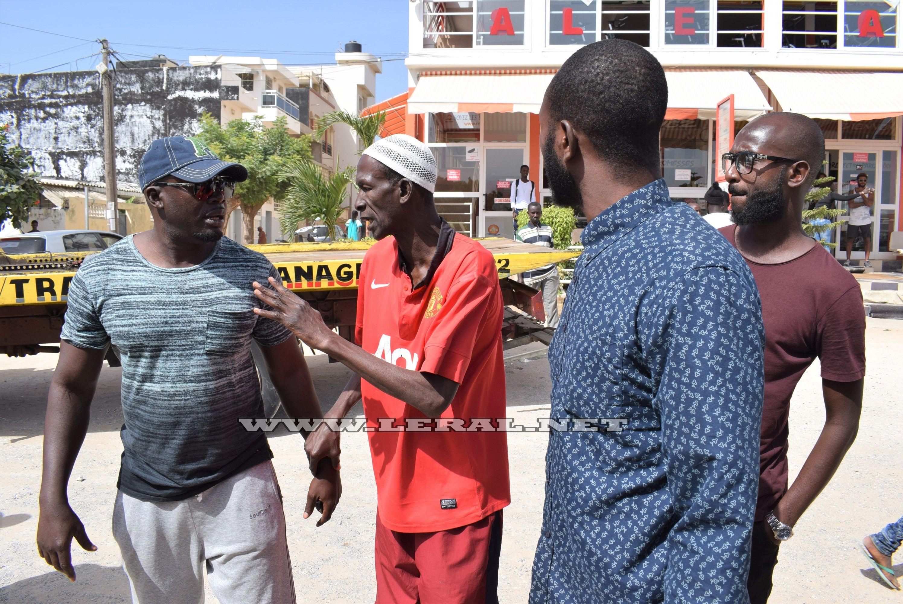 """Les images du déguerpissent musclé au parking de Mar Diop alias """" Bro"""""""