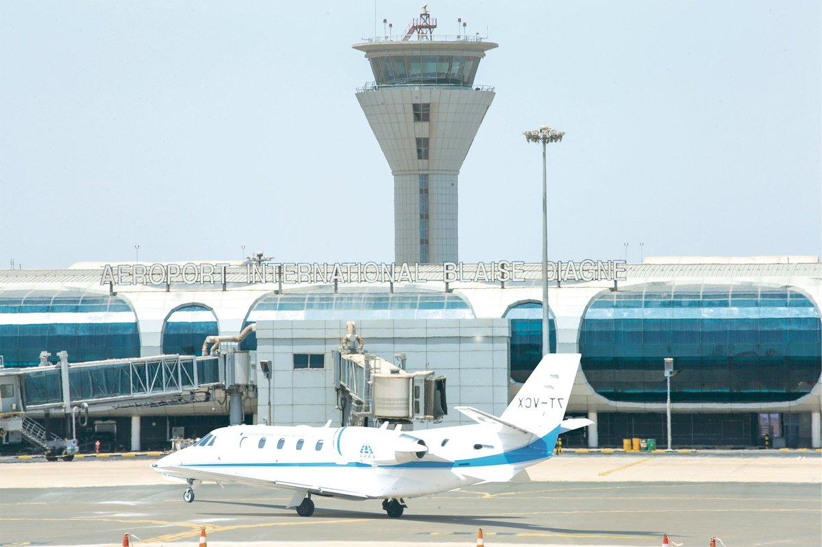 AIBD: Environ 432 mouvements d'avions enregistrés  depuis jeudi