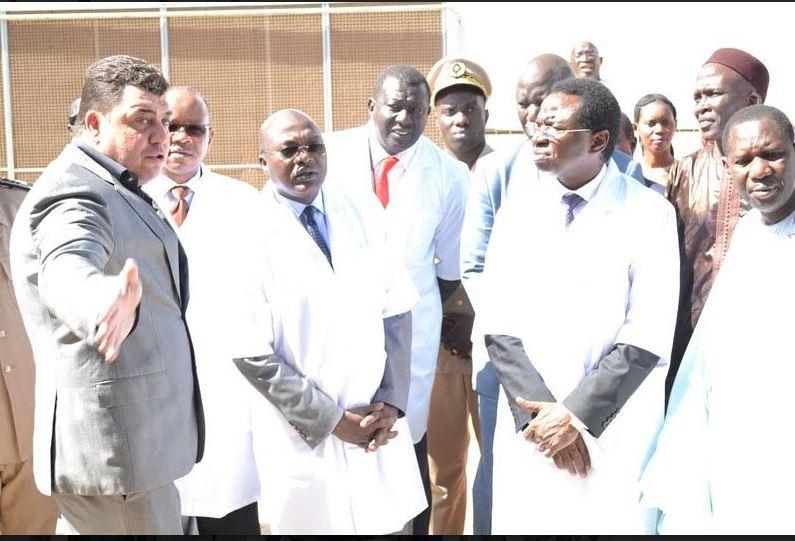 Sandiara: Inauguration d'une usine de transformation et d'exportation de produits de pêche