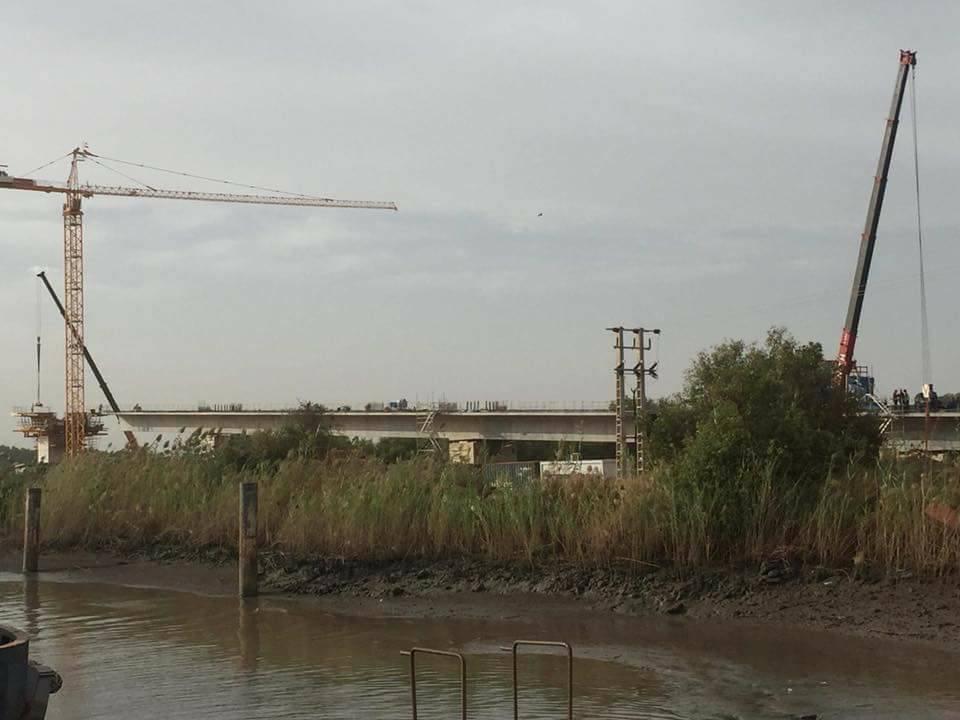 Arrêt sur images : Le pont Sénégal-Gambie prend forme