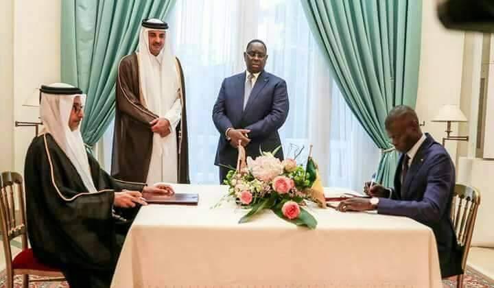 Un mémorandum d'entente signé entre l'Etat du Qatar et l'Etat du Sénégal