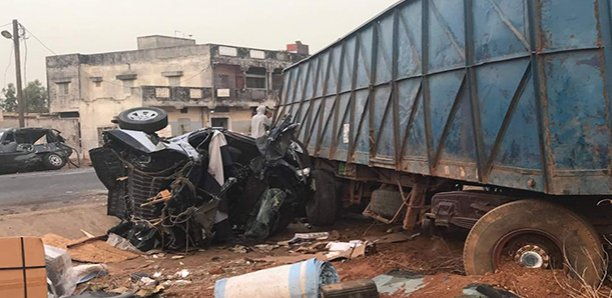 Grave accident à Diass : Le bilan fait 5 morts (images)