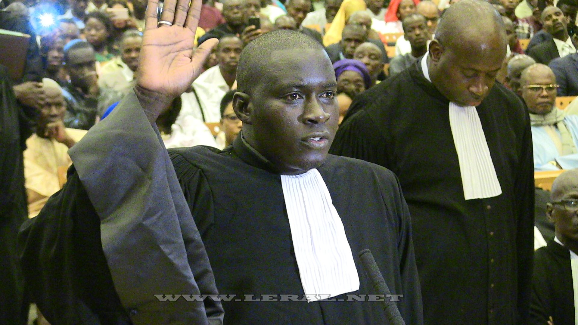 Photos : Cérémonie de prestation de serment des nouveaux avocats