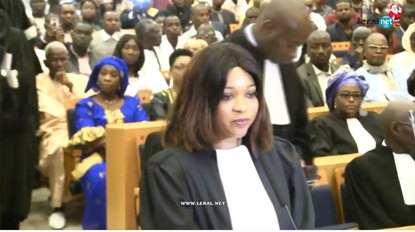 Palais de Justice: Cérémonie de prestation de serment de nouveaux avocats
