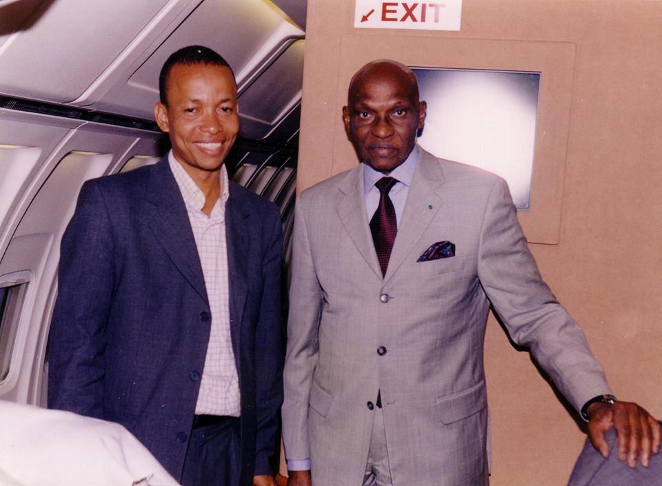 Photos : Souleymane Jules Diop et Abdoulaye Wade : Guerre et paix