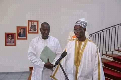 Le Président de la République a reçu Serigne Bassirou Mbacké Porokhane