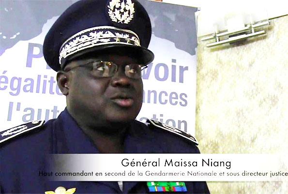 Perception de corruption: Le général Meissa Niang s'en prend à l'OFNAC