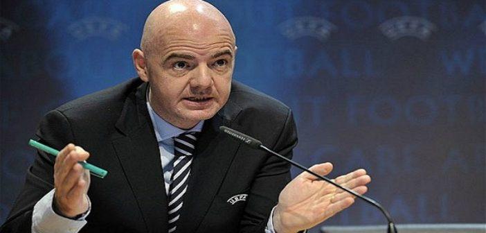 Fifa: Le président Gianni Infantino se prononce sur l'arbitrage vidéo