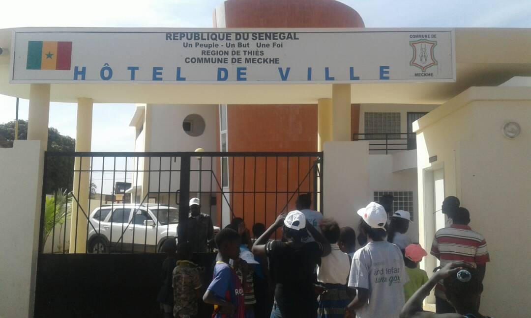And defar sunu gox à Mékhé, le groupe Sonatel assainit le cadre de vie des populations