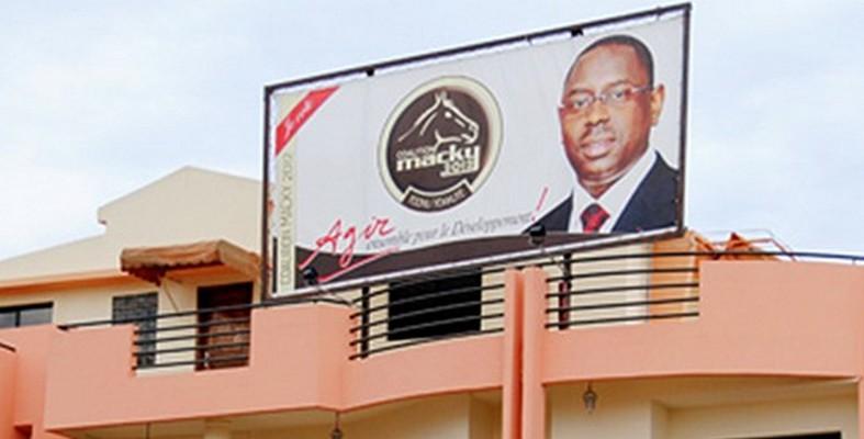Permanence: l'Apr s'offre un terrain de 2000 m2 sur l'avenue Cheikh Anta Diop