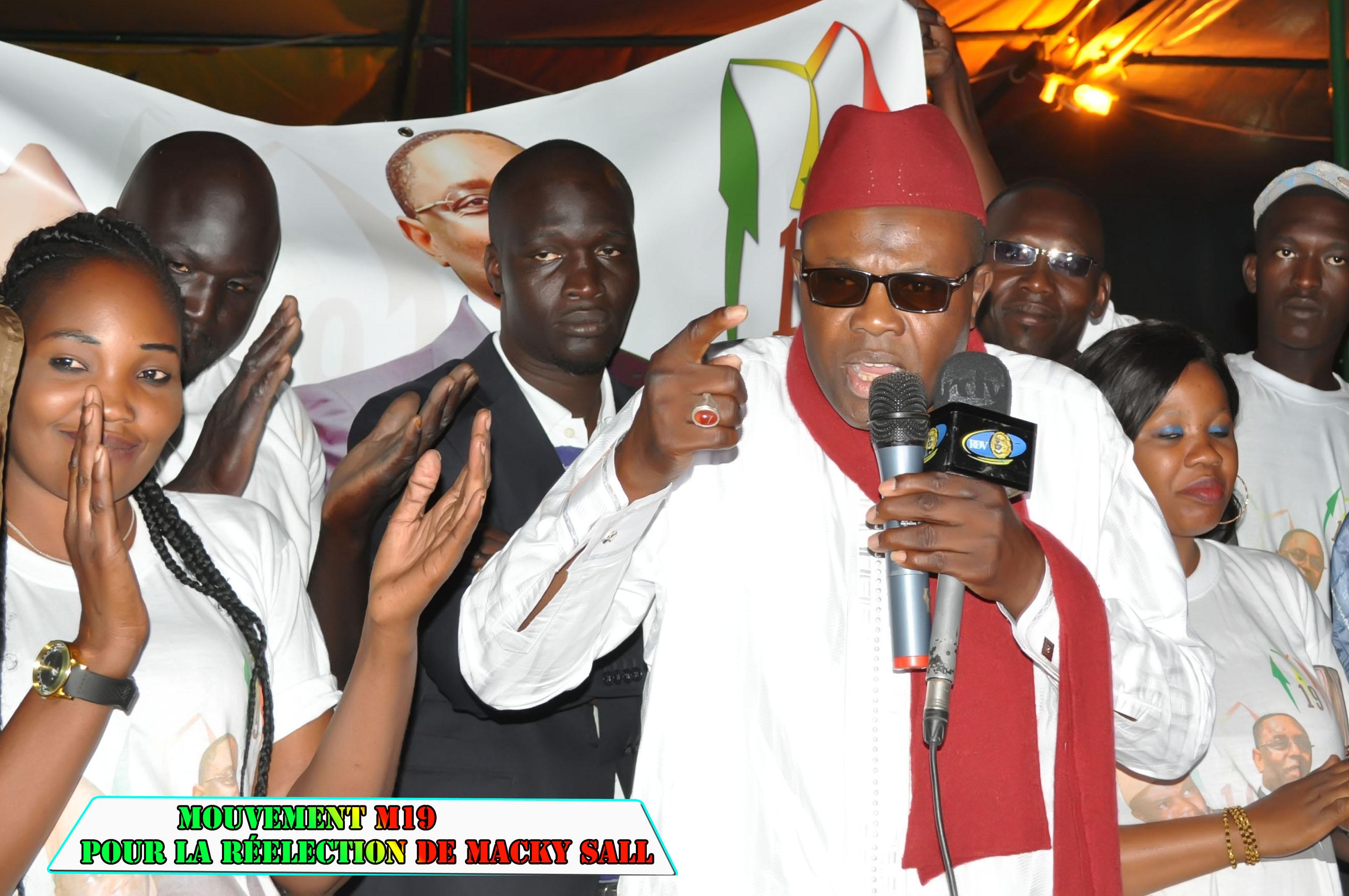 CHEIKH TIDIANE DIOUM, LE PRESIDENT DU MOUVEMENT M19, PREVIEN: « Les mouvements de soutien seront d'un apport décisif pour le Président Macky Sall en 2019 mais… »