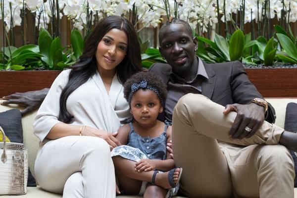 14 photos : Mamadou Sakho et sa femme Madja nagent dans le bonheur