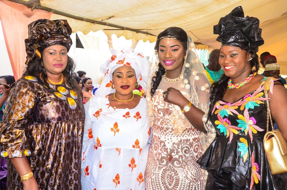 100 Photos : Revivez le mariage de Yankhoba Sané et Mame Diarra Babou, la fille de Me Babou, ancien député…Regardez