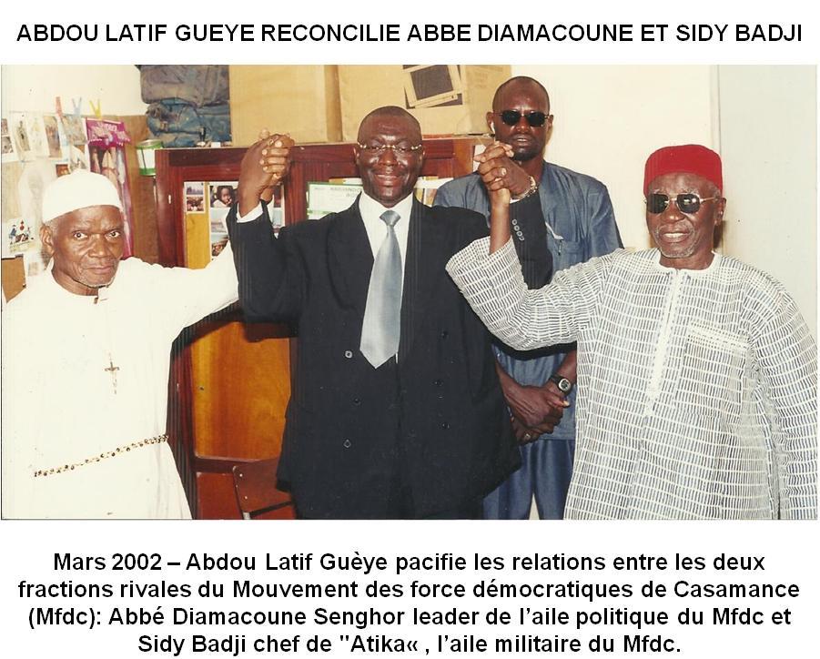 Crise casamançaise:  Le RDS exhorte le Président Macky Sall à la vigilance, face l'activisme sulfureux… !