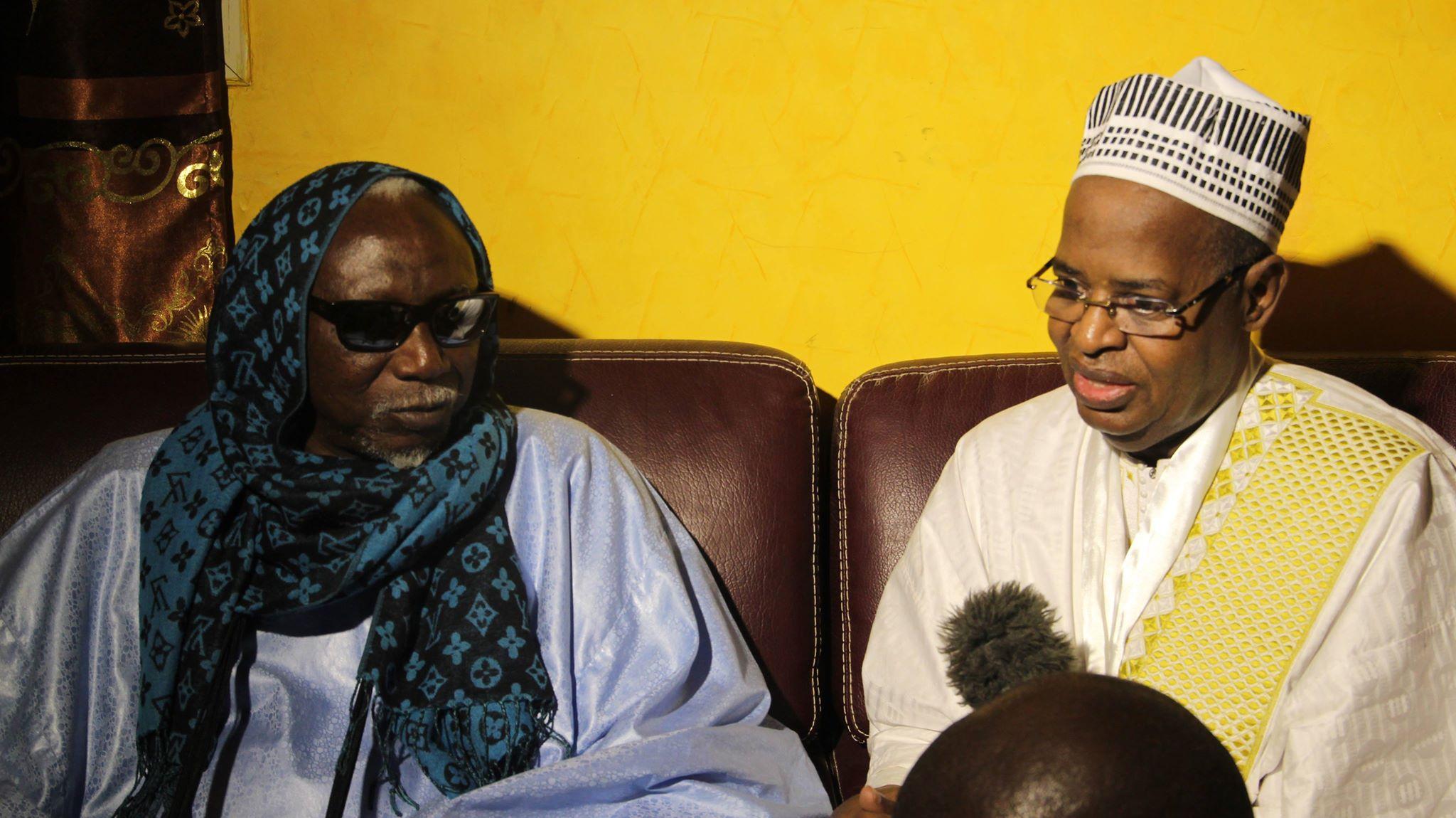 (Photos) Sidy Lamine Niasse a présenté ses condoléances à la famille éplorée