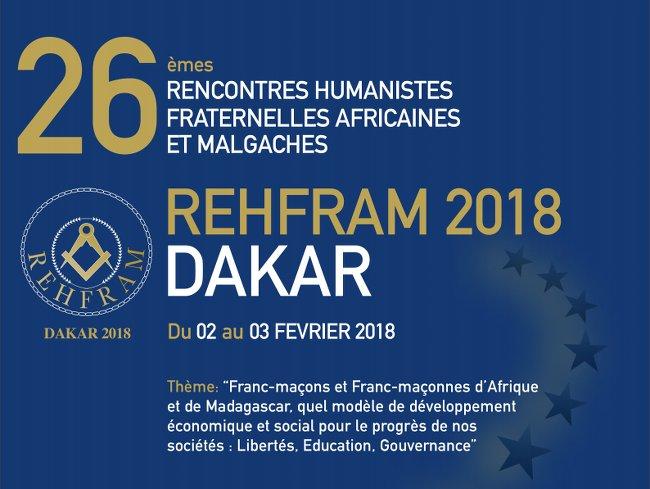 Francs-Maçons - Rehfram 2018 à Dakar : Qu'est-ce qui a changé entre 1992 et 2018 ?