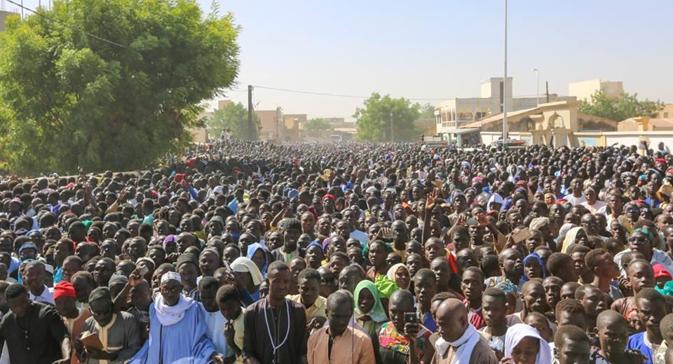 Touba : La Communauté mouride rend un ultime hommage à son Khalife
