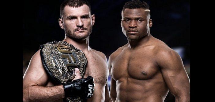 UFC: Le Camerounais Francis Ngannou affrontera le champion du Monde Stipe Miocic