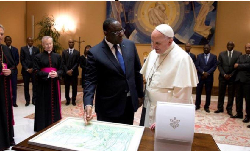Message de sa Sainteté le Pape François au Président de la République du Sénégal