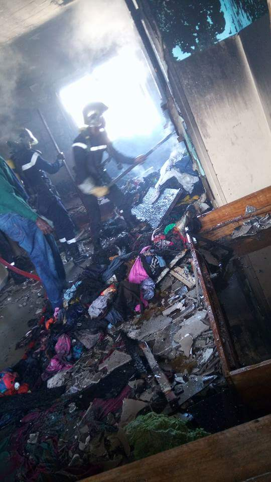 Affrontements à l'Ucad : Une grenade met le feu dans une chambre d'étudiantes