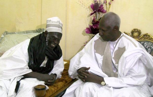 Touba: La visite d'Abdou Diouf n'a duré que le temps d'une rose