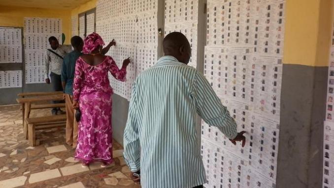 Fichier électoral: l'audit démarre lundi avec quatre experts étrangers