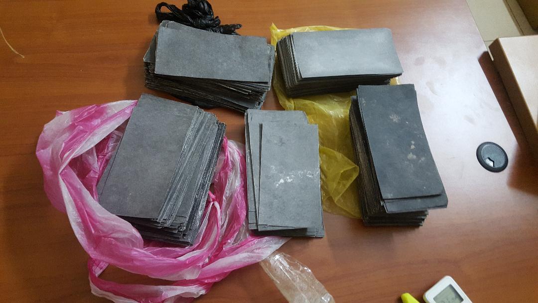 Ziguinchor: Un Bissau-guinéen arrêté avec plus de 30 millions de billets noirs à Mpack (Images)