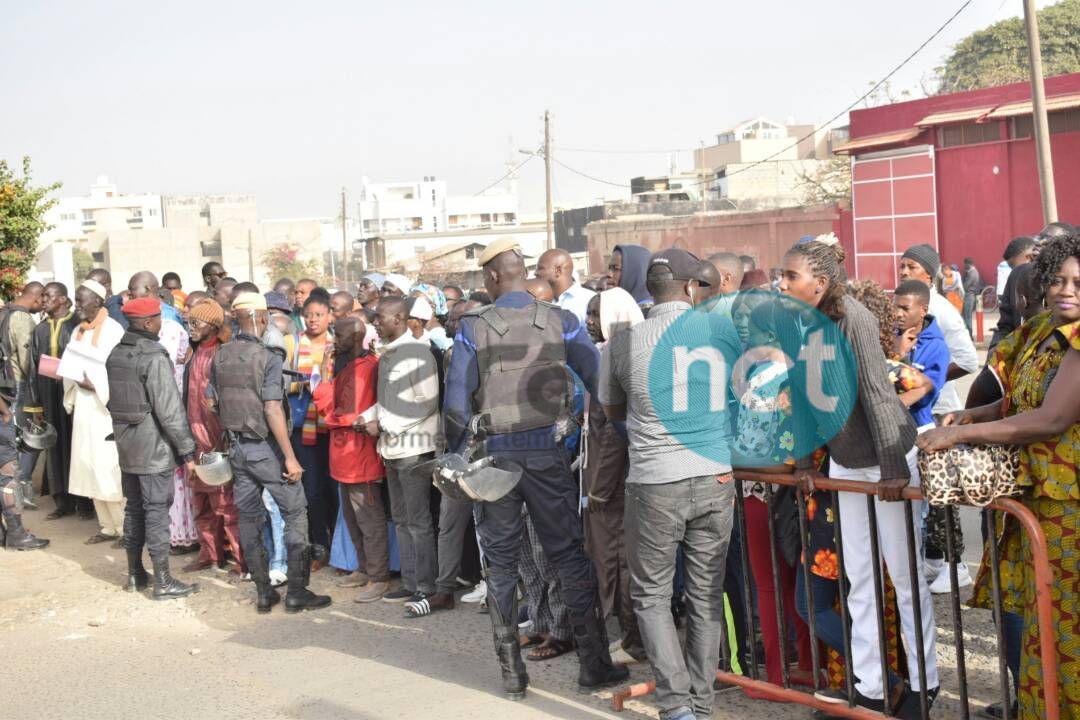 Les premières images du procès Khalifa Sall, mobilisation des partisans