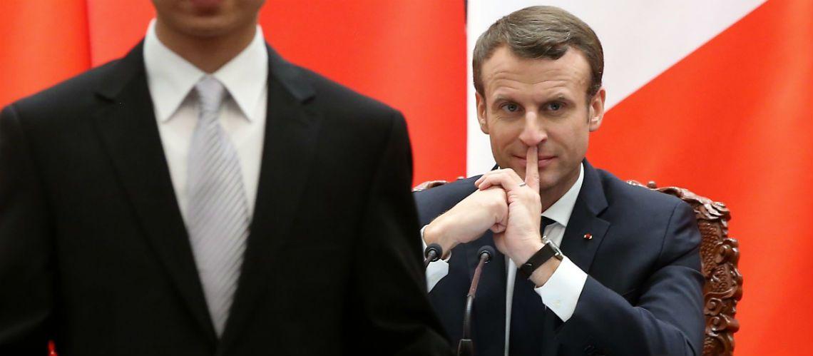 PHOTO – Découvrez le prix de la montre d'Emmanuel Macron