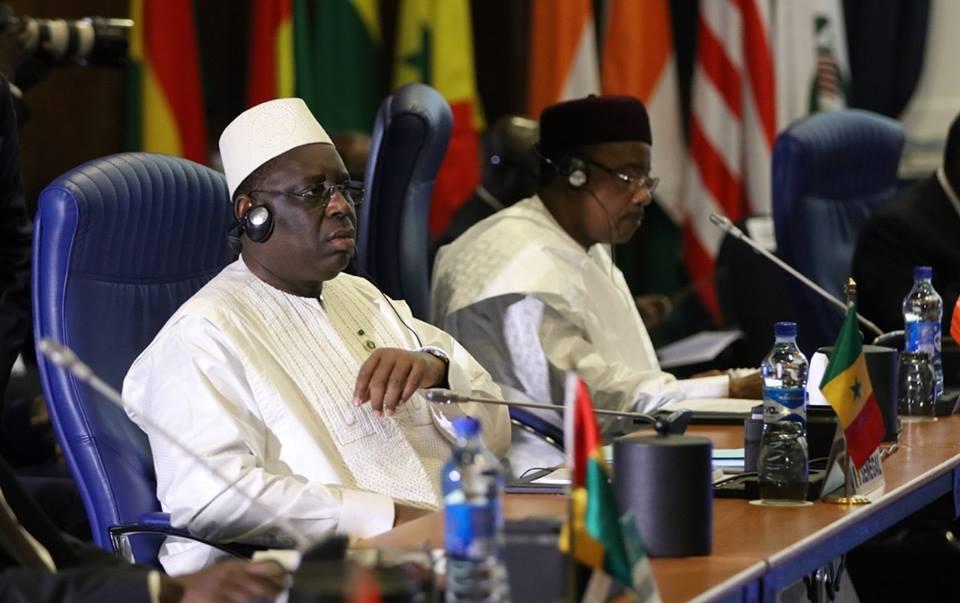 Macky Sall au 30e Sommet de l'UA sous le thème « L'AFRIQUE À L'ASSAUT DE LA CORRUPTION »