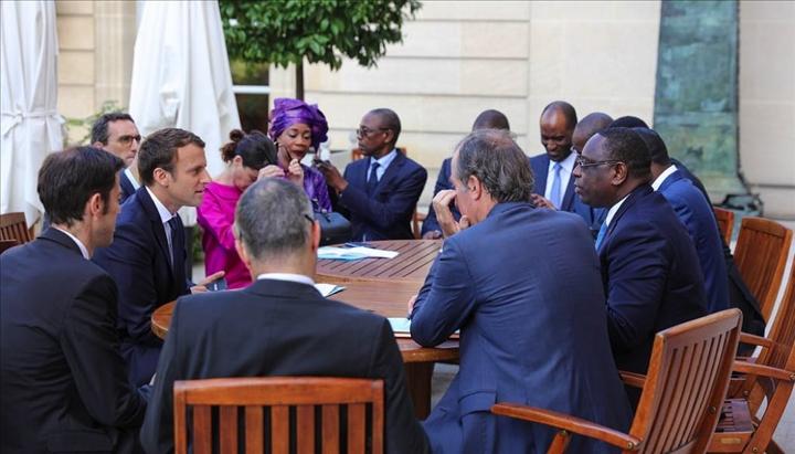 """Macron viendra avec des """"success stories"""" de la diaspora sénégalaise en France"""