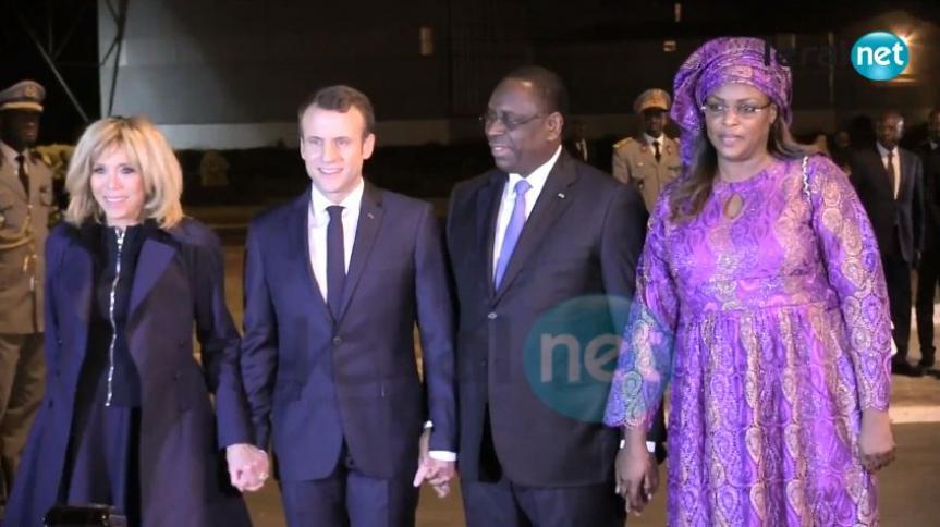 Page spéciale : Suivez en direct la visite d'Emmanuel Macron au Sénégal sur Leral.net