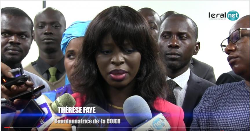 Visite de Macron : La COJER qualifie la déclaration du PDS, de ''honteuse''